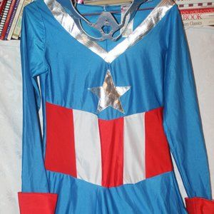 Marvel Costumes - Captain America Women's Superhero Costume
